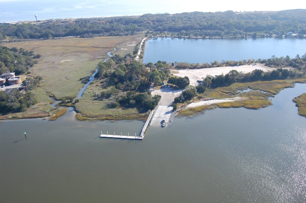 Jekyll Creek Boat Ramp