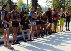 se coast paddling trail youth paddle